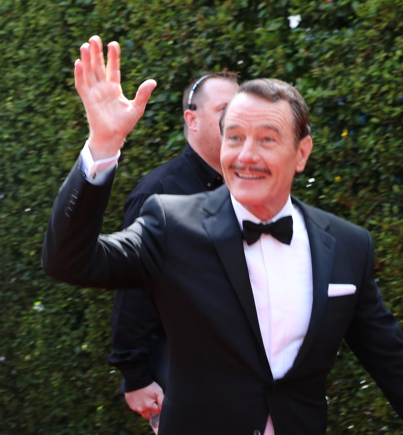Bryan Cranston Red Carpet Emmy's 2014