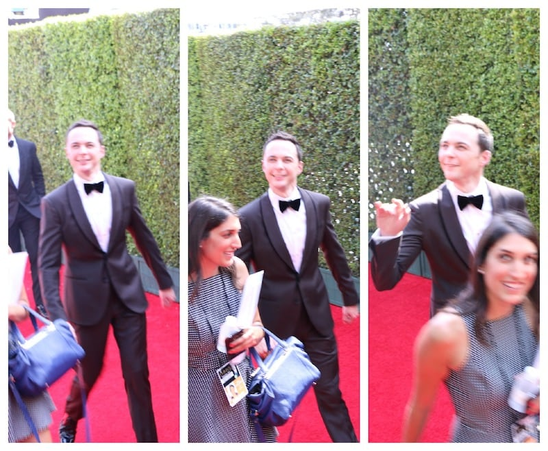 Jim Parsons emmys red carpet 2014