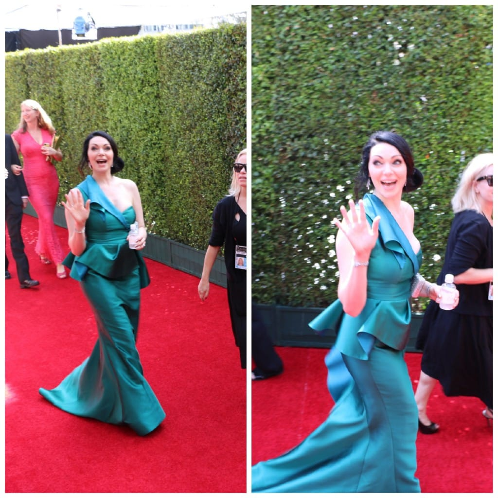 Laura Prepon red carpet emmys 2014
