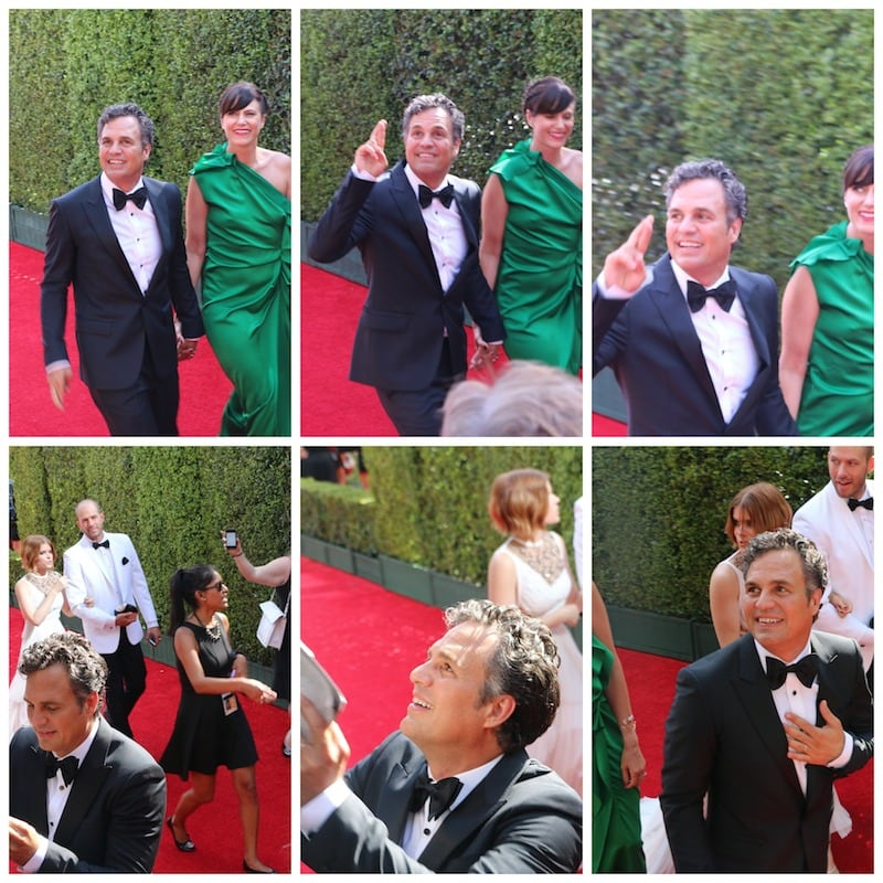 Mark Ruffalo emmys red carpet 2014