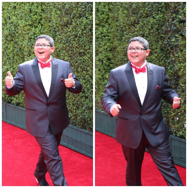 Rico Rodriguez emmys red carpet 2014
