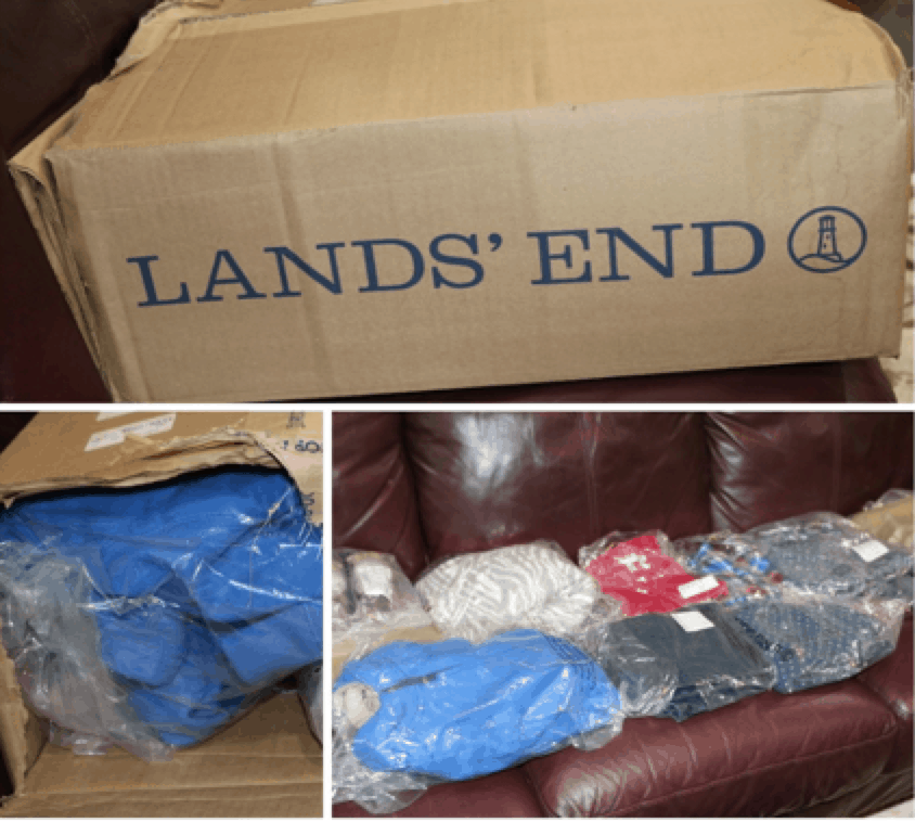 Lands End Back to School Unboxing