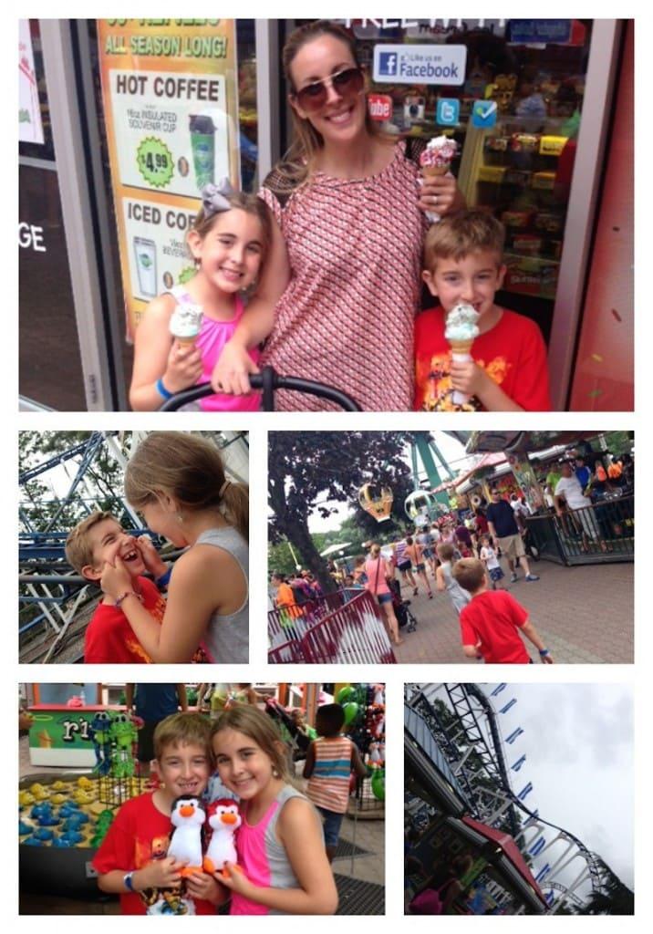 Kids enjoying Adventureland and playing games