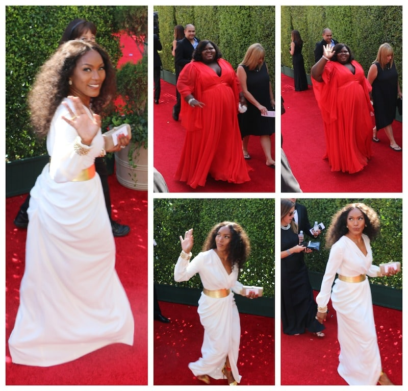 Angela Bassett Emmys 2014 Red Carpet