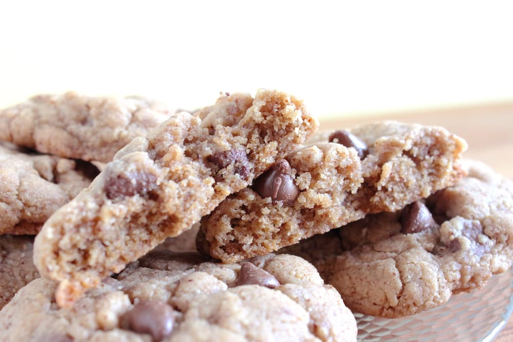 Almond Butter Cookie Recipe - With Chocolate Chips