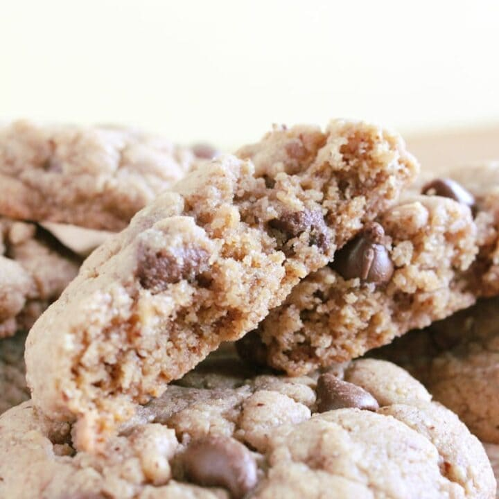 Almond Butter Chocolate Chip Cookie Recipe