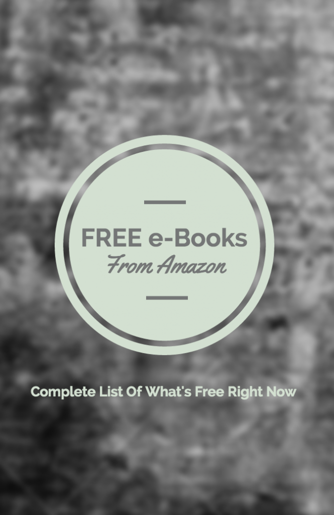 free e-books amazon list
