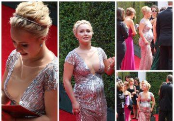 Hayden Panettiere Emmy's Red Carpet 2014
