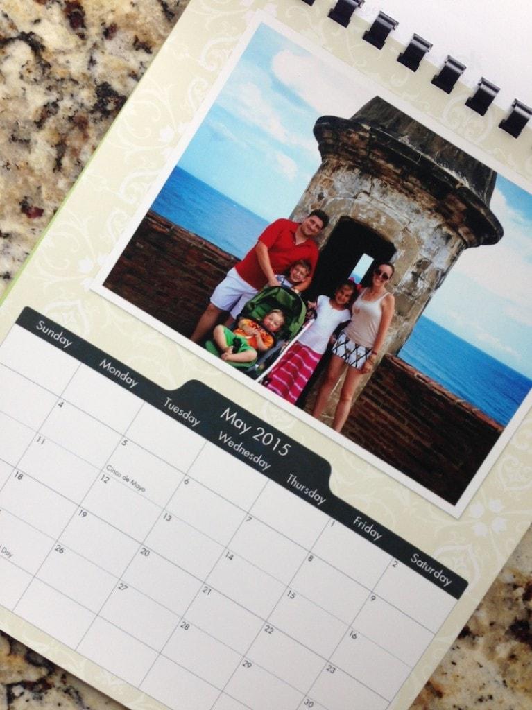 CVS Photo Personalized Calendar Maker - My Family Calendar