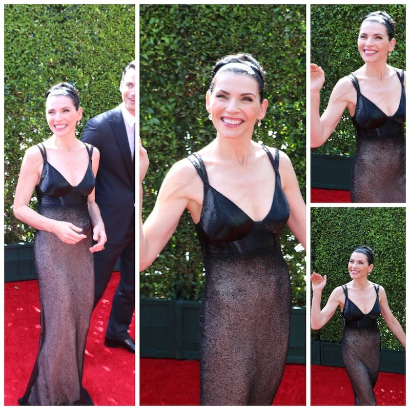julianna margulies emmys red carpet 2014