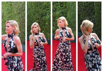 julie bowen emmys 2014 red carpet