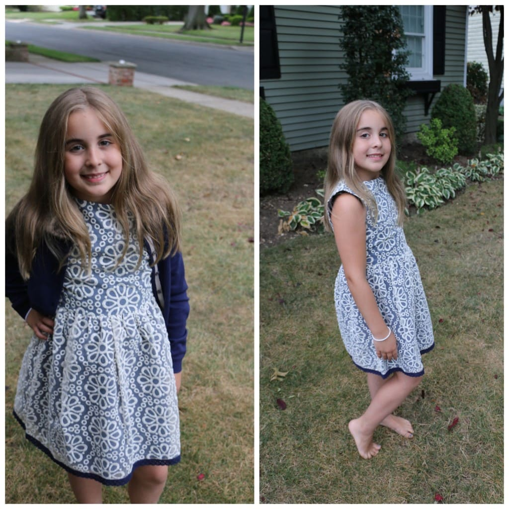 Mini Boden Child Style Fall Look Girl In Dress