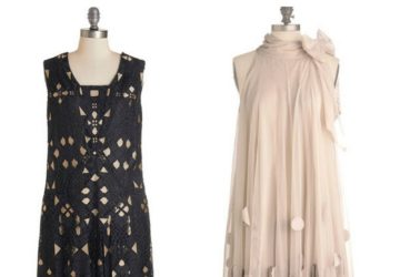 1920s flapper girl fashion