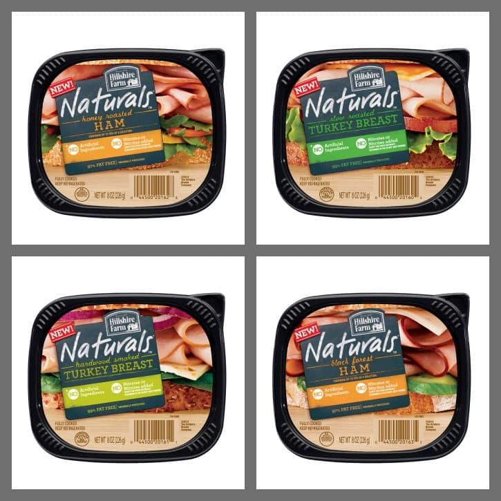 NEW Hillshire Farm Naturals -  Love Your Sandwich Again