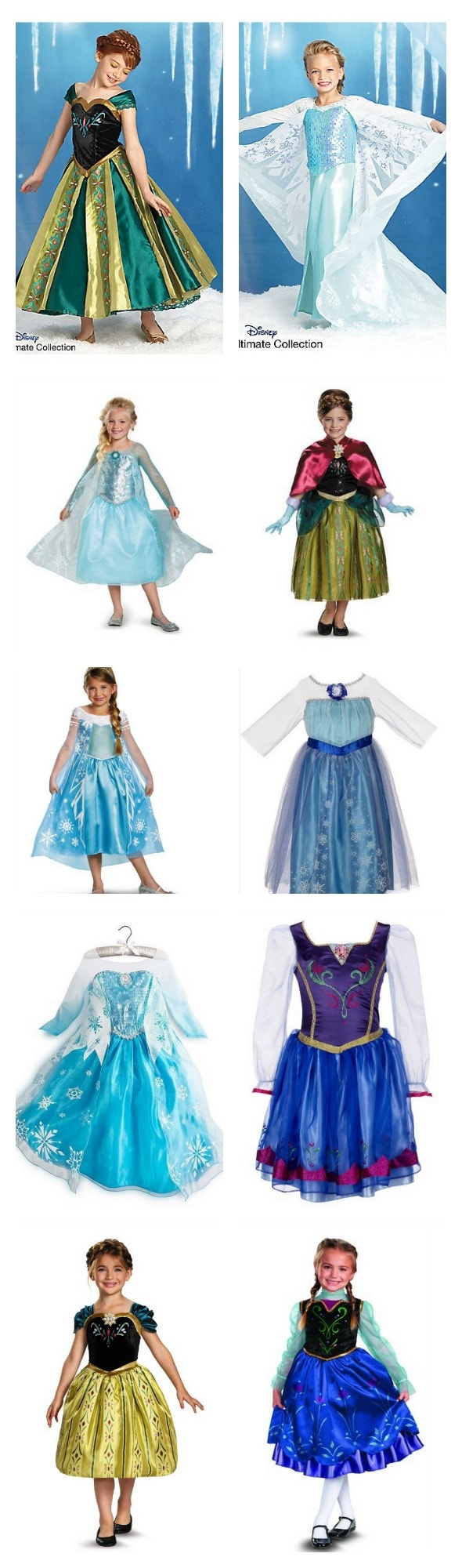 frozen_halloween_costumes & 10 Disneyu0027s Frozen Halloween Costumes: Where To Purchase (Highs And ...