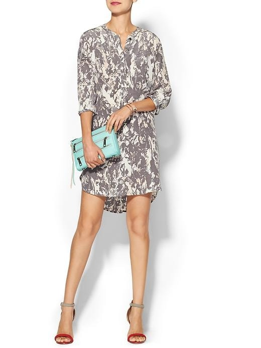 Piperlime Collection Printed Silk Dress