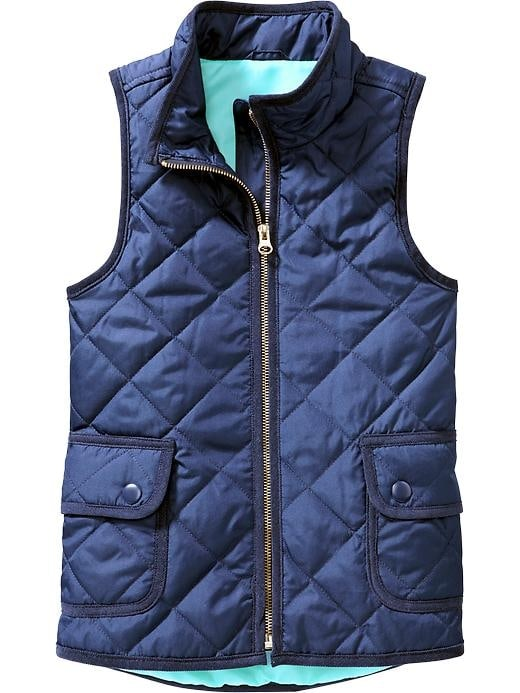 Old Navy Girls Quilted Barn Vests