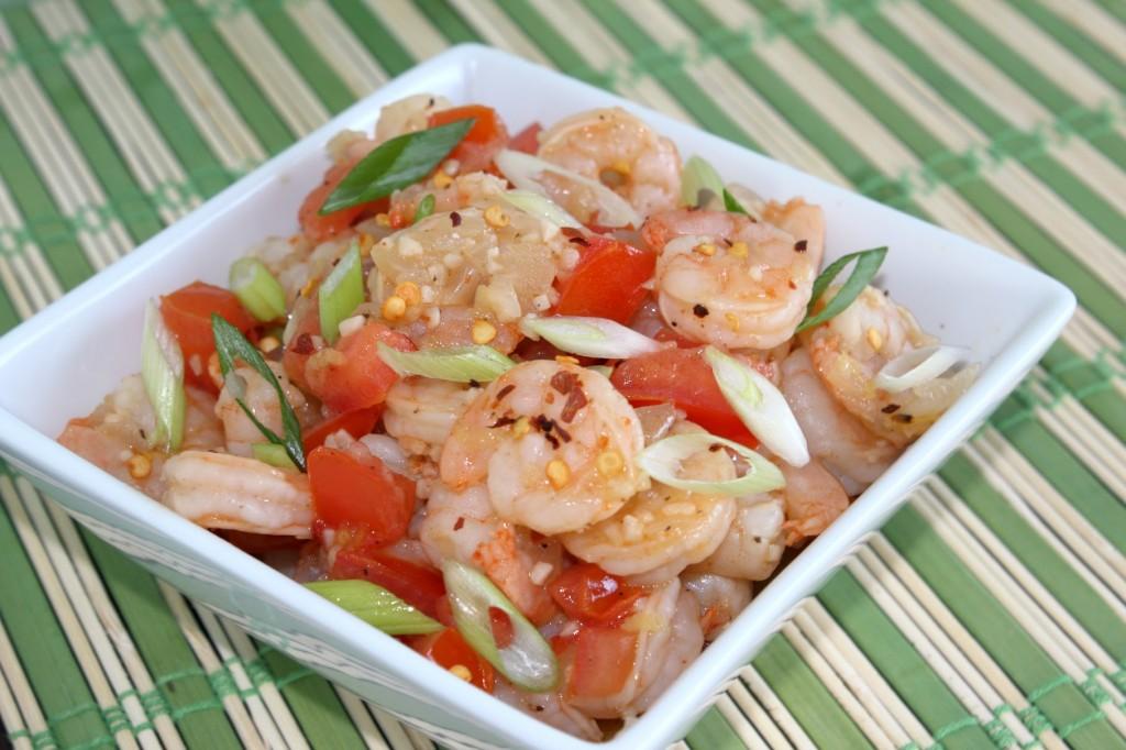 Spicy Lemon Garlic Shrimp Recipe