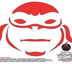 Teenage Mutant Ninja Turtles Pumpkin Stencils For Halloween
