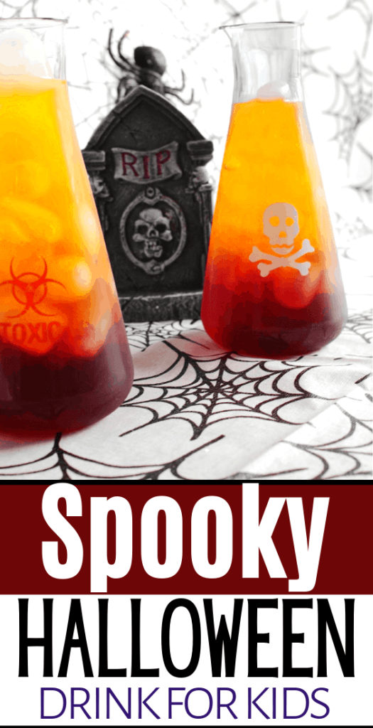 science lab drink for halloween