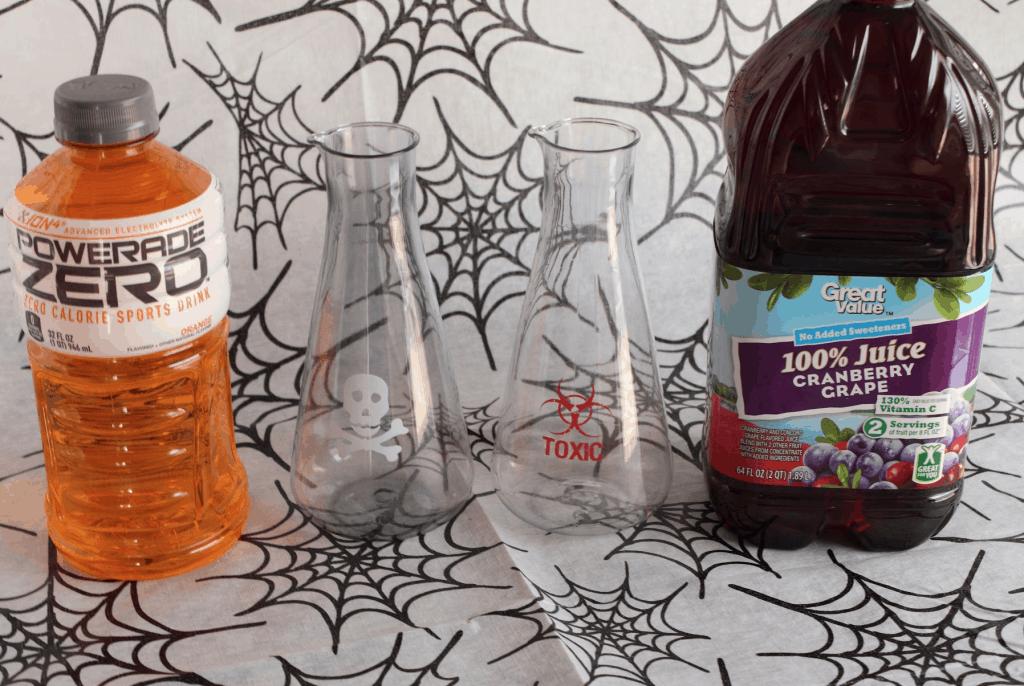 Halloween Spooky Drink: Toxic Tonic