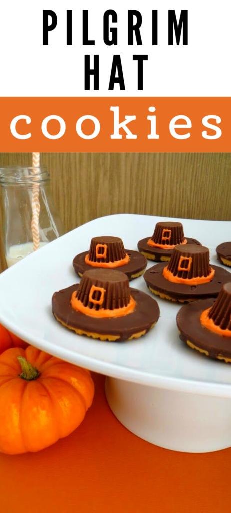 cookies pilgrim hat