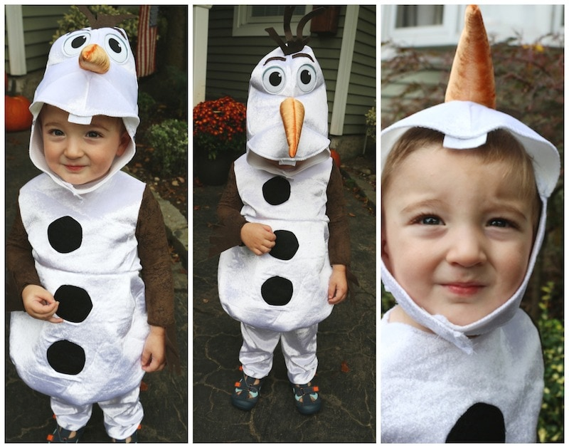 Olaf Halloween Costume  sc 1 st  Lady and the Blog & The Olaf Costume From Spirit Halloween: Check Out Caleb! - Lady and ...