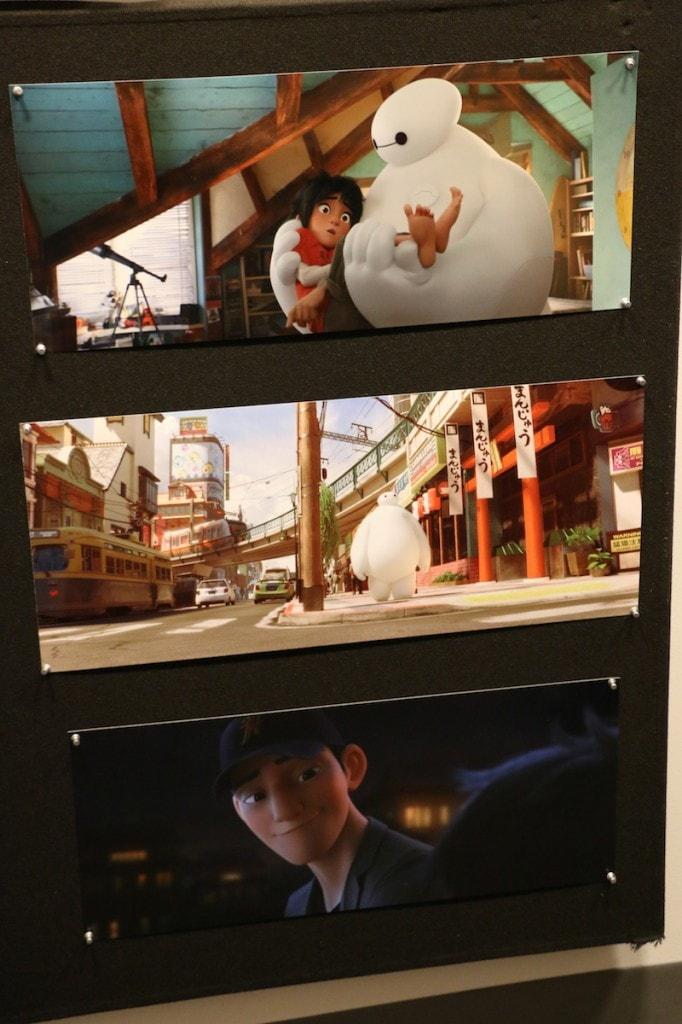 Big Hero 6 Artwork in Disney