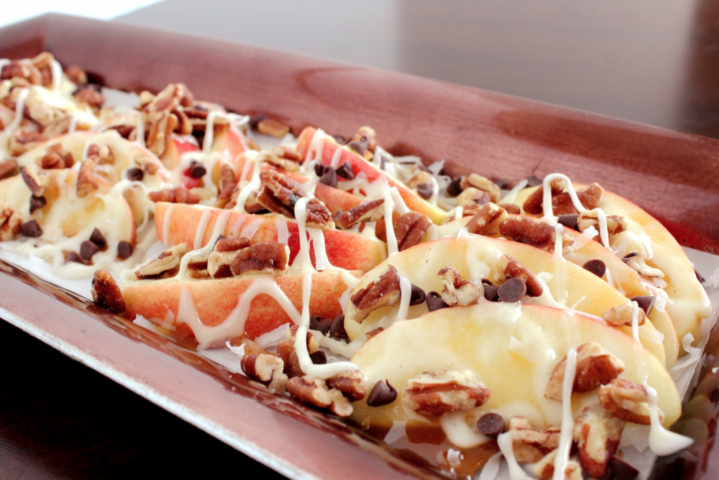 Dessert Nachos With Apples And Chocolate Recipe