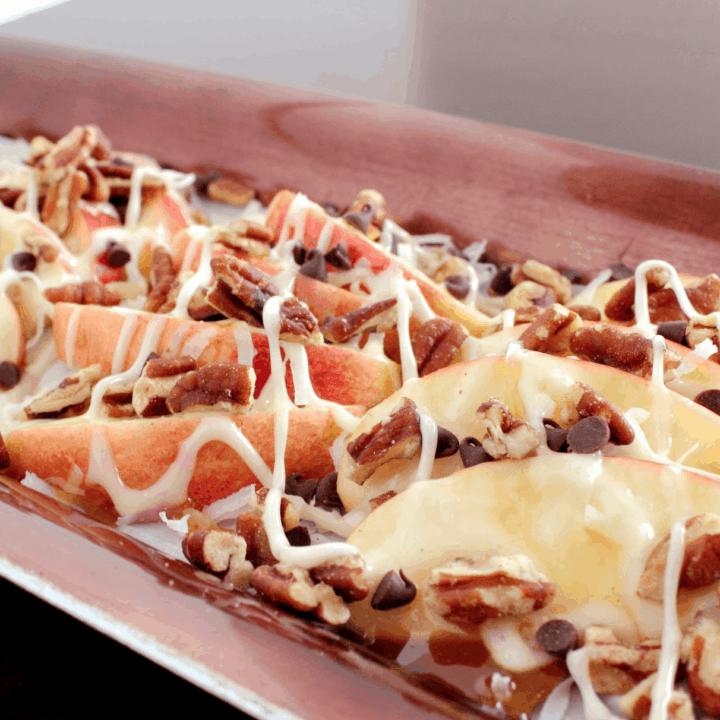 Dessert Apple Nachos