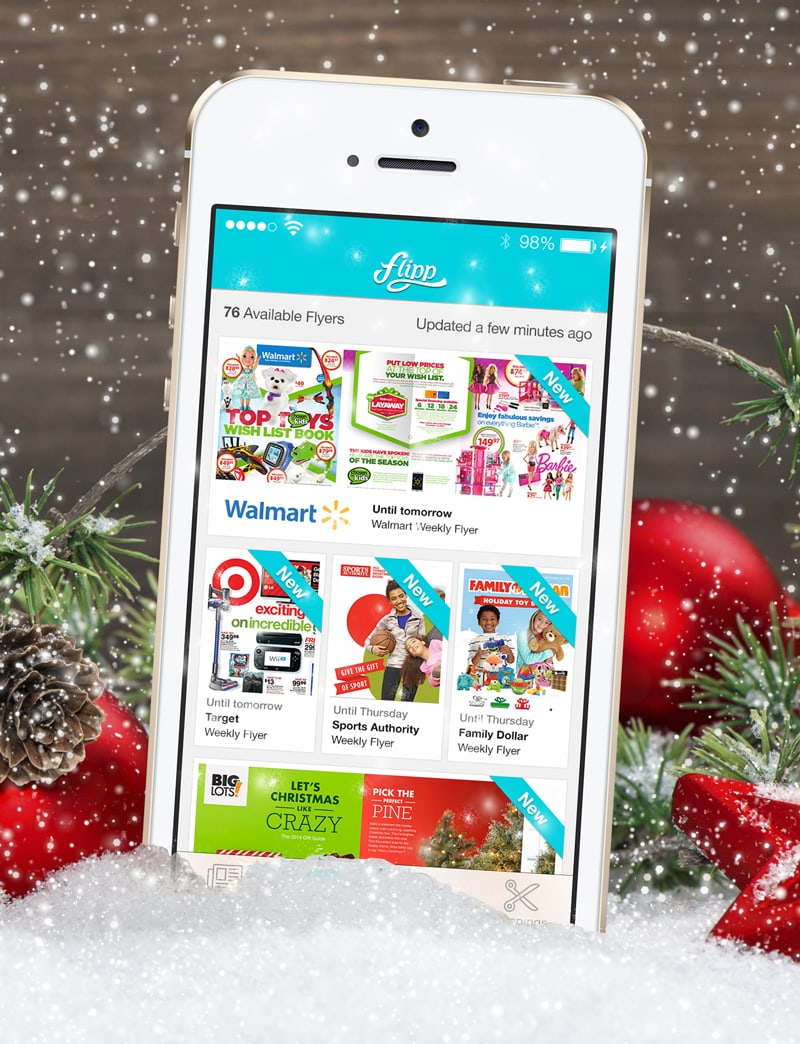 Flipp App: Your Favorite Sunday Circulars and Weekly Ads (plus $50 Visa card giveaway)