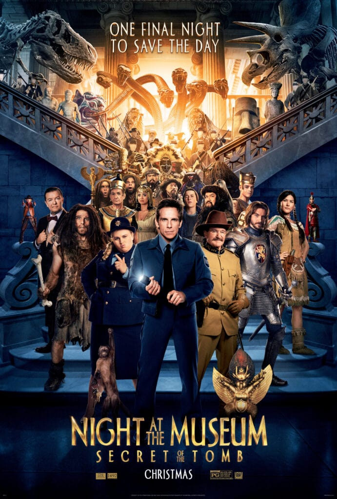 The Night At The Museum Cast Interview: Secret Of The Tomb