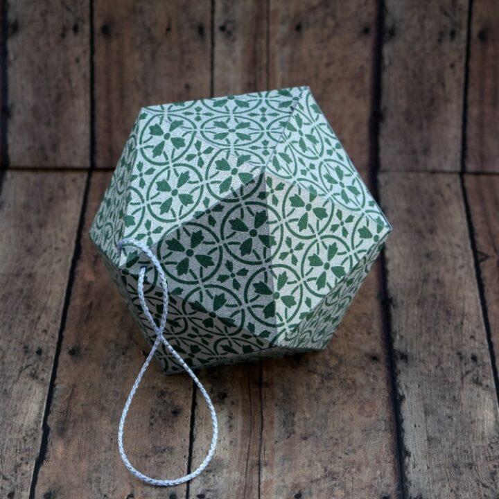 Cricut Tutorial: How To Make A Paper Ornament