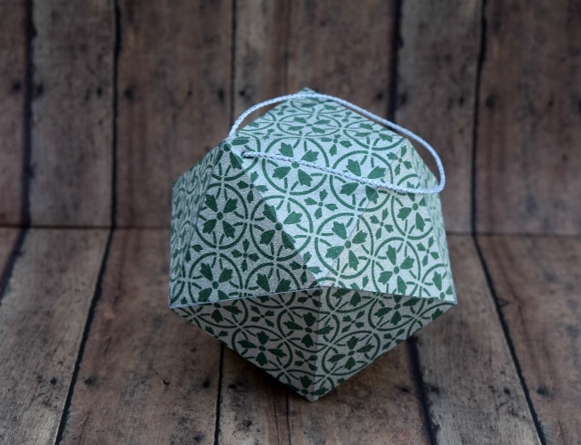 paper ornaments - how to make