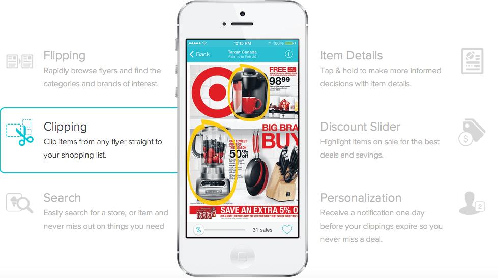 Flipp App features