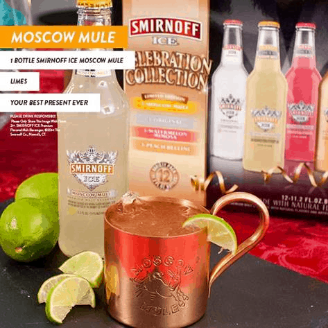 Moscow Mule - Game Day Cocktails