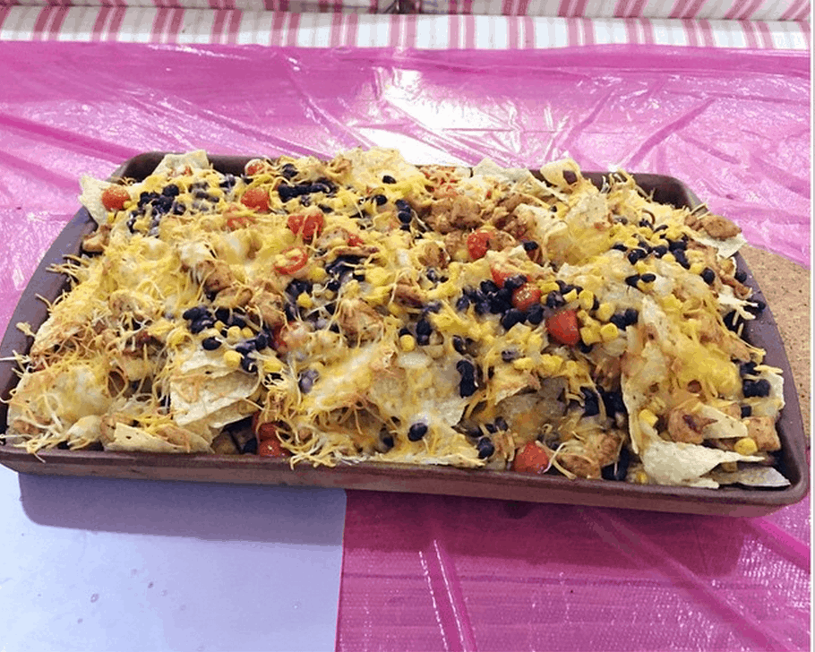 Loaded Nachos For Dinner: A Rare Treat And OH SO GOOD