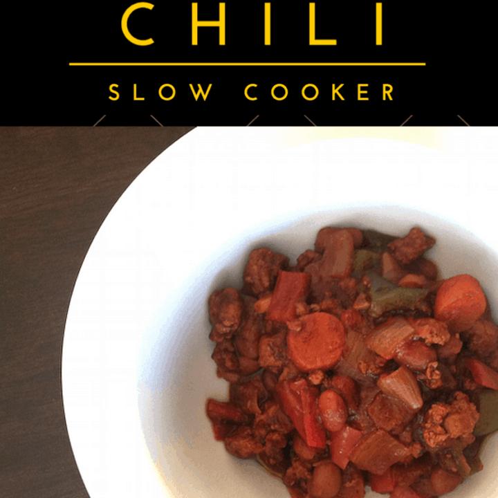 Slow Cooker Turkey Chili (Weight Watchers)