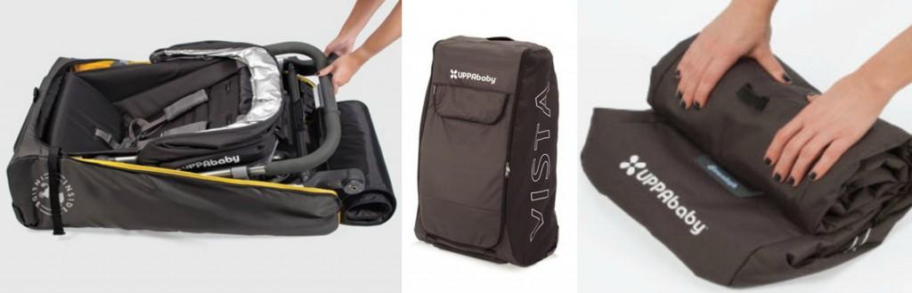 UB Travel Bag Collage