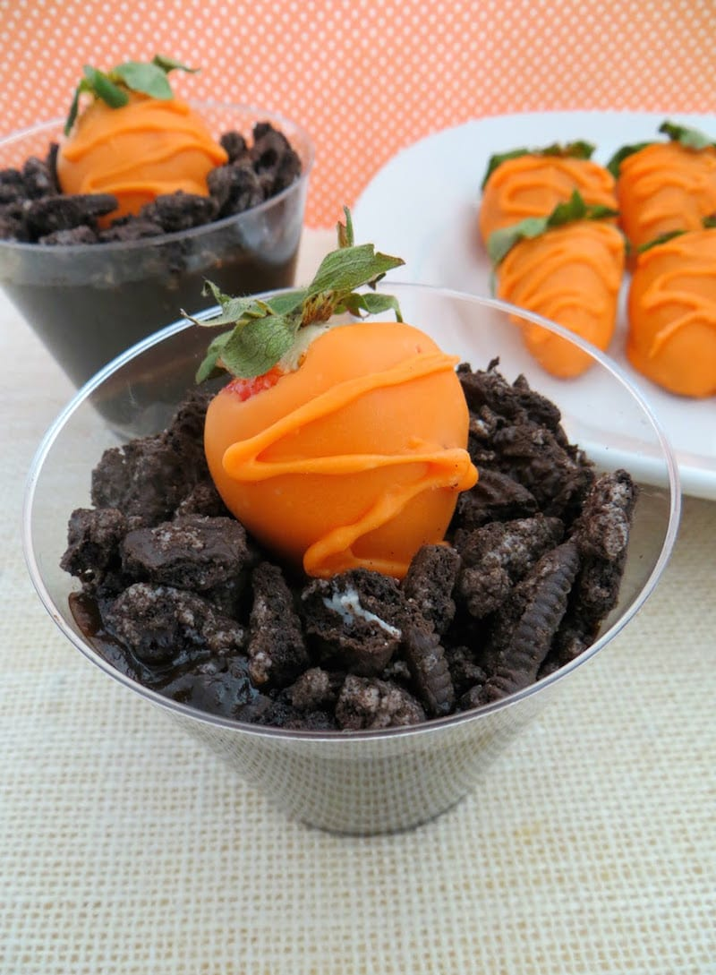 Carrots In Dirt: Fun Kids Food Craft For Easter