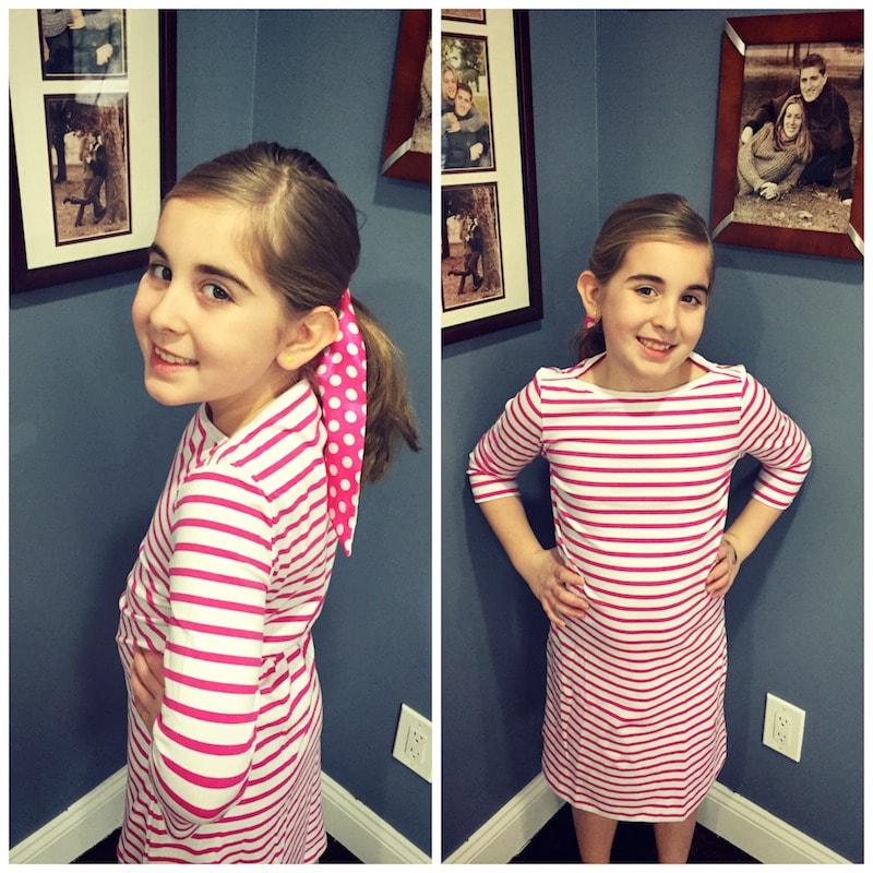 Garnet Hill Pajamas And Adorable Boatneck Knit Dress