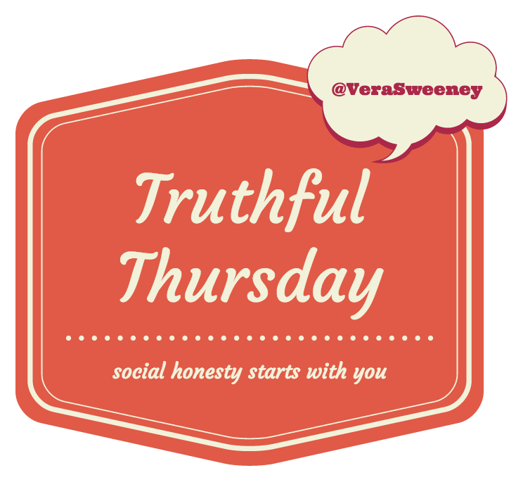 Truthful Thursday: Social Honesty Starts With You #truthfulthursday