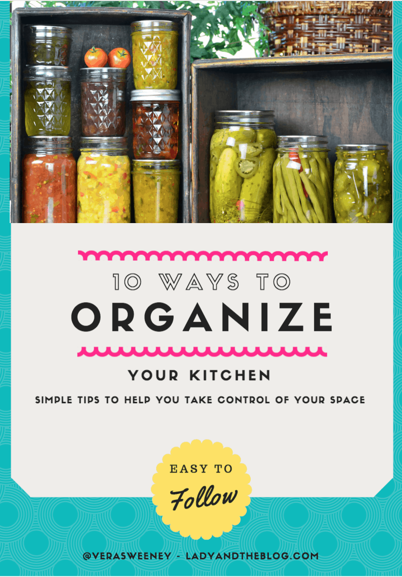 10 Ways To Organize Your Kitchen And Maximize Space