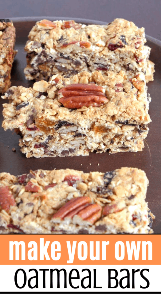 Make your own Granola Oatmeal Bars