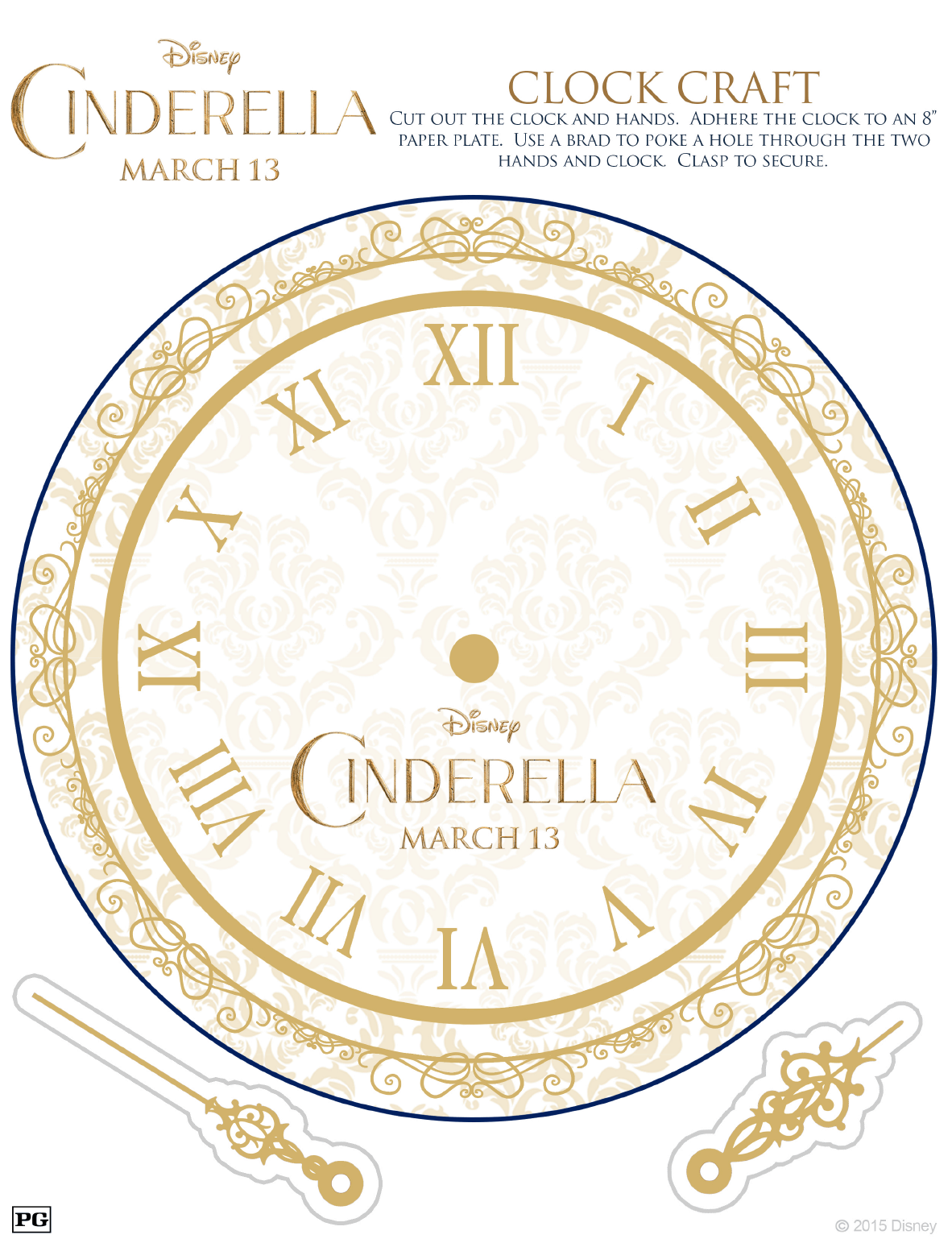 Free Cinderella Activity Sheets For The Kids