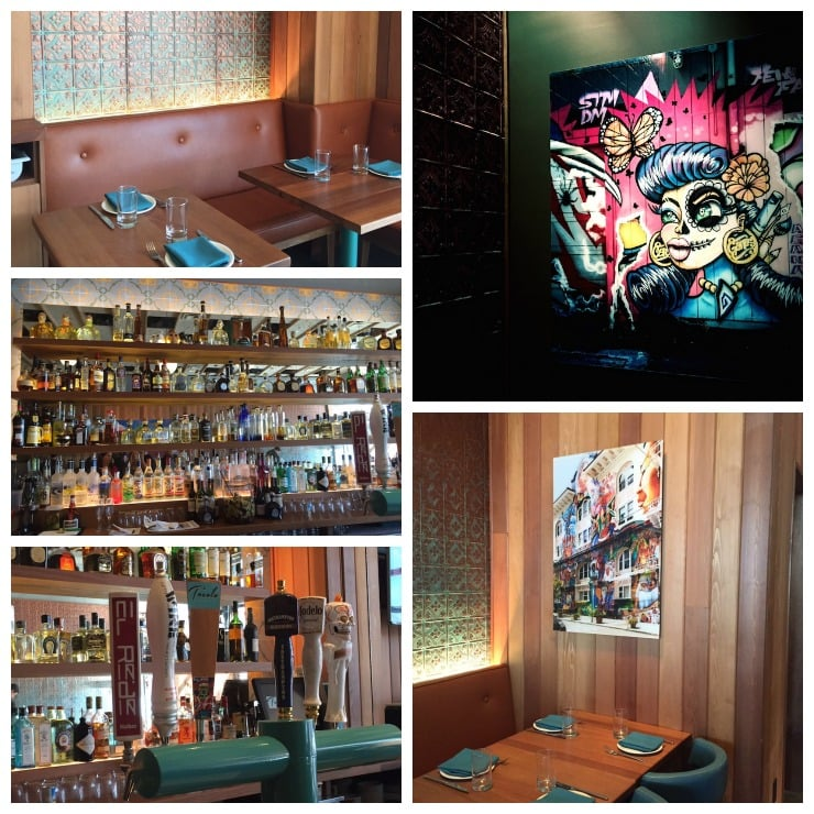 Tocolo Cantina Design Collage