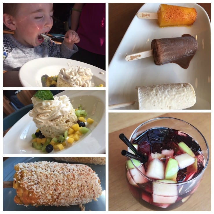 Tocolo Cantina Dessert Collage