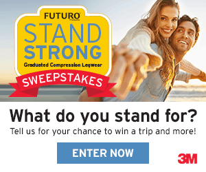 Futuro Stand Strong Sweepstakes Banner 300x250