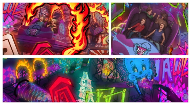 Hershey Laff Traxx Collage