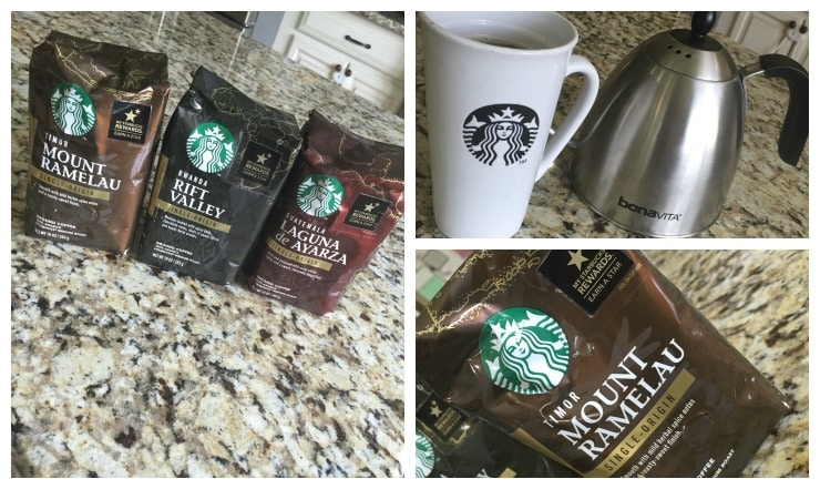 Starbucks Single Origin Collage